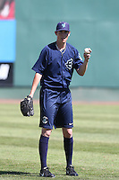 Ryan Yarbrough #29 of the Everett AquaSox before a game against the Tri-City Dust Devils at Everett Memorial Stadium on July 28, 2014 in Everett, Washington. Tri-City defeated Everett, 6-5. (Larry Goren/Four Seam Images)