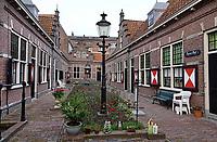 Nederland - Hoorn- 2020.   St. Pietershof. Het Rozenhof.   Foto ANP / HH / Berlinda van Dam