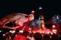 Les Plasticiens Volants au<br /> Festival <br /> Juste Pour Rire ,<br /> 16 Juillet 1998