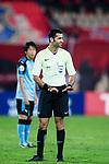 Fifa Referee Abdulrahman Al-Jassim of Qatar (L) during the AFC Champions League 2017 Group G match between Guangzhou Evergrande FC (CHN) vs Kawasaki Frontale (JPN) at the Tianhe Stadium on 14 March 2017 in Guangzhou, China. Photo by Marcio Rodrigo Machado / Power Sport Images