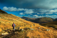 Ben Lomond and Ben Reoch from beneath The Cobbler, the Arrochar Alps, Loch Lomond and the Trossachs National Park, Argyll & Bute