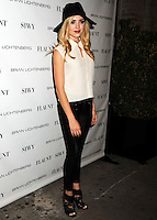 NEW YORK CITY, NY, USA - SEPTEMBER 03: Actress Peyton List arrives at the Flaunt Magazine Distress Issue Launch held at Gilded Lily on September 3, 2014 in New York City, New York, United States. (Photo by Celebrity Monitor)