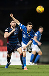 St Johnstone v Ross County…..29.12.19   McDiarmid Park   SPFL<br />Jason Holt and Iain Vigurs<br />Picture by Graeme Hart.<br />Copyright Perthshire Picture Agency<br />Tel: 01738 623350  Mobile: 07990 594431