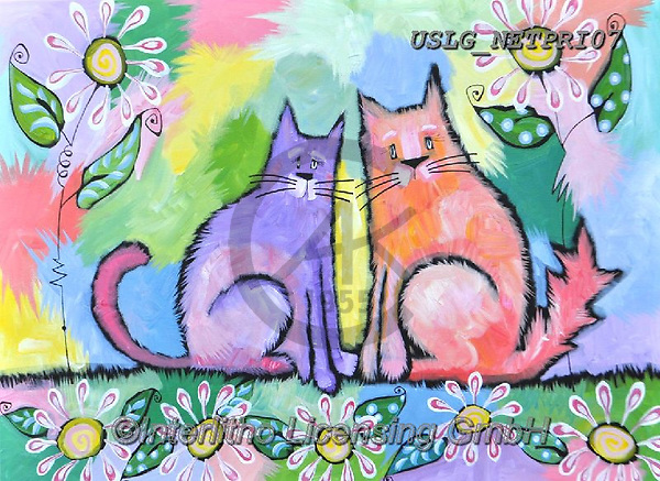 Nettie,REALISTIC ANIMALS, REALISTISCHE TIERE, ANIMALES REALISTICOS, paintings+++++Barry&Larry,USLGNETPRI07,#A#, EVERYDAY pop art