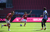 27th September 2020; Ashton Gate Stadium, Bristol, England; English Football League Championship Football, Bristol City versus Sheffield Wednesday; Jamie Paterson of Bristol City plays the ball forward into the box
