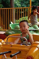 China, Kanton (Canton, Guangzhou), Kinderspielplatz im Park auf der Shamian-Insel