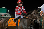 September 18, 2021: #1 Kneesnhips in the G3 Pocahontas S. at Churchill Downs in Louisville, Kentucky on September 18, 2021. Jessica Morgan/Eclipse Sportswire.