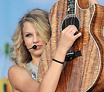 Photo by Amanda Ullery.Taylor Swift entertains the crowd at Country Concert in the Hills at Hickory Hills Lake near Ft. Loramie, Ohio on Sunday July 13, 2008.