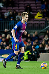 Ivan Rakitic of FC Barcelona in action during the La Liga 2017-18 match between FC Barcelona and Levante UD at Camp Nou on 07 January 2018 in Barcelona, Spain. Photo by Vicens Gimenez / Power Sport Images