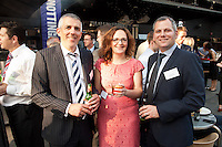 From left are Tim Corthorrn of Nat West, Kirstie Kerry of Gateley and Andy Pickett of EC Harris