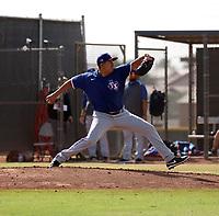 Florencio Serrano - 2020 AIL Rangers (Bill Mitchell)
