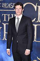 "Callum Turner<br /> arriving for the ""Fantastic Beasts: The Crimes of Grindelwald"" premiere, Leicester Square, London<br /> <br /> ©Ash Knotek  D3459  13/11/2018"
