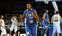 French national basketball team player Diaw Boris gestures during final Eurobasket 2011 game between Spain and France in Kaunas, Lithuania, Sunday, September 18, 2011. (photo: Pedja Milosavljevic)