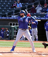 Joey Gallo - Texas Rangers 2021 spring training (Bill Mitchell)