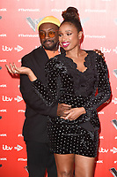 """Will.i.am and Jennifer Hudson<br /> at the launch photocall for the 2019 series of """"The Voice"""" London<br /> <br /> ©Ash Knotek  D3468  03/01/2019"""