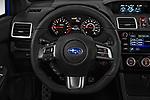 Car pictures of steering wheel view of a 2018 Subaru WRX Base 4 Door Sedan