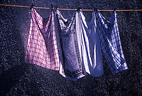 Laundry on the line<br />