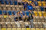 12.09.2020, Ernst-Abbe-Sportfeld, Jena, GER, DFB-Pokal, 1. Runde, FC Carl Zeiss Jena vs SV Werder Bremen<br /> <br /> <br /> Stadion  war mit 1600 Besuchern gem Corona auflagen besetzt. Covid-19, Fans, Sitzschale, Abstand<br /> <br /> <br /> <br /> <br /> Foto © nordphoto / Kokenge