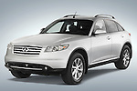Front three quarter view of a 2008 Infiniti FX35 SUV