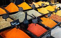 Nederland -  Rotterdam - juni 2018. De Markthal in Rotterdam. Spices of Marrakech. Wereldkruiden.   Foto Berlinda van Dam / Hollandse Hoogte