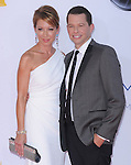 Lisa Joyner and Jon Cryer at The 64th Anual Primetime Emmy Awards held at Nokia Theatre L.A. Live in Los Angeles, California on September  23,2012                                                                   Copyright 2012 Hollywood Press Agency