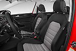 Front seat view of a 2015 Volkswagen Golf Highline 5 Door Wagon 2WD Front Seat car photos