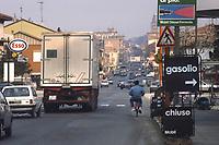 - la strada statale Via Emilia attraversa la città di Cesena<br /> <br /> -  the state road Via Emilia crosses the city of Cesena