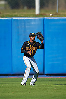 Bethune-Cookman Wildcats outfielder Kyle Corbin (33) during practice before a game against the Wisconsin-Milwaukee Panthers on February 26, 2016 at Chain of Lakes Stadium in Winter Haven, Florida.  Wisconsin-Milwaukee defeated Bethune-Cookman 11-0.  (Mike Janes/Four Seam Images)