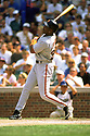 CHICAGO - CIRCA 1998:  Barry Bonds #25 of the San Francisco Giants bats during an MLB game at Wrigley Field in Chicago, Illinois. Bonds played for 22 seasons with 2 different teams, was a 14-time All-Star and was a 7-time National League MVP.(David Durochik / SportPics) --Barry Bonds
