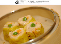 Siu Mai, pork and shrimp balls at Victoria seafood in Hong Kong.
