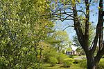 Rooke Chapel in spring
