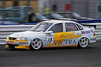 Silverstone round of the 1997 British Touring Car Championship. #18 Jan Brunstedt. (SWE). Janco Motorsport. Opel Vectra.