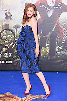 "Isla Fisher<br /> at the premiere of ""Alice Through the Looking Glass"" held at the Odeon Leicester Square, London<br /> <br /> <br /> ©Ash Knotek  D3117  10/05/2016"