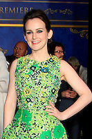 """LOS ANGELES - MAR 1:  Sophie McShera at the """"Cinderella"""" World Premiere at the El Capitan Theater on March 1, 2015 in Los Angeles, CA"""