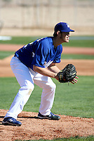 Clayton Kershaw - Los Angeles Dodgers - 2009 spring training.Photo by:  Bill Mitchell/Four Seam Images