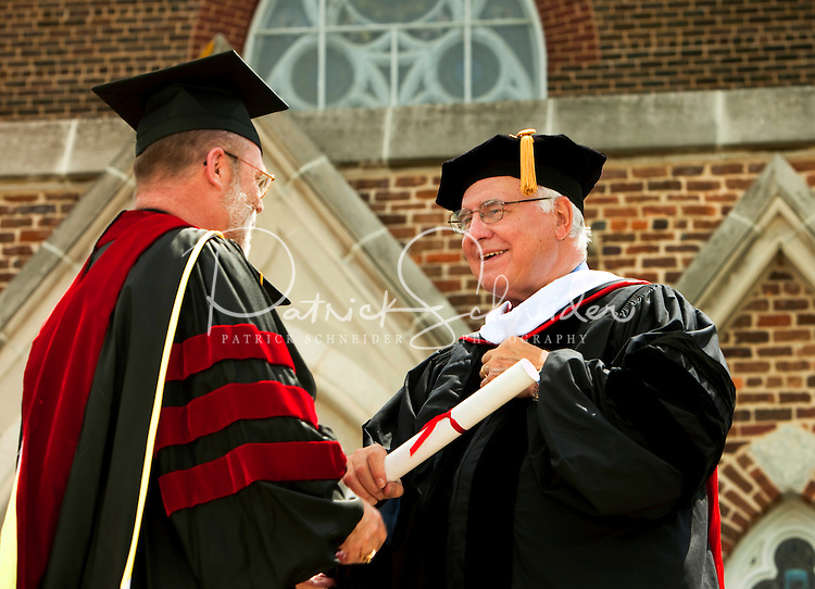 Belmont Abbey College Graduation 2009 in Belmont North Carolina,near Charlotte, NC.