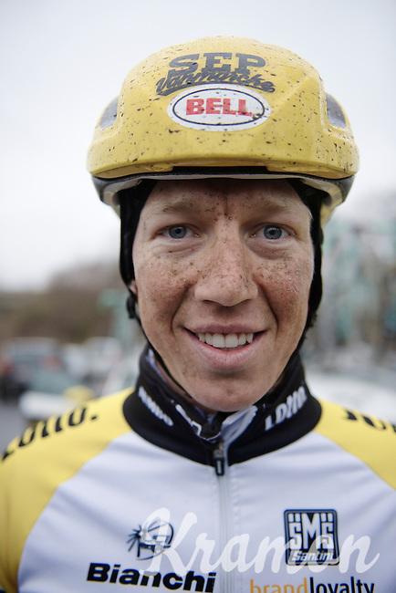 Sep Vanmarcke (BEL/LottoNL-Jumbo) post-trainingride<br /> <br /> 2015 Omloop Het Nieuwsblad recon by Team LottoNL-Jumbo
