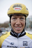 Sep Vanmarcke (BEL/LottoNL-Jumbo) post-trainingride<br /> <br /> 2015 Omloop Het Nieuwsblad recon by Team LottoNL-Jumbo