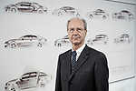 Hans Dieter Poetsch, Aufsichtsratsvorsitzender der Volkswagen AG, Portrait, Einzelportrait, Innenaufnahme, Europa, Deutschland, Wolfsburg, 15.12.205<br /> <br /> Engl.: Hans Dieter Poetsch, Austrian businessman and chairman of board of car maker Volkswagen AG, portrait at VW headquarters in Wolfsburg, Germany, Europe, December 15, 2015. car industry, global business, vw emissions scandal, german economy