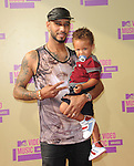 Swizz Beatz and son Egypt at The 2011 MTV Video Music Awards held at Staples Center in Los Angeles, California on September 06,2012                                                                   Copyright 2012  DVS / Hollywood Press Agency