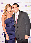 Erin Andrews and Keith Lind at Holly's Angels gala at Cipriani in New York City.