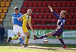 Brian Graham slots the ball past St Mirren keeper Mark ridgers to score for St Johnstone