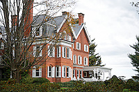 Mansion at Marsh-Billings-Rockefeller National Historic Park, Woodstock, Vermont, US