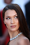 """Cannes Film Festival 2018 - 71st edition - Day 4 - May 11 in Cannes, on May 11, 2018; screening of the film """"Ash is Purest White ( Jiang hu er nv)"""" ;  Bella Hadid"""