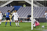 Daniela Sabatino of Italy scores a goal during the Women s EURO 2022 qualifying football match between Italy and Israel at stadio Carlo Castellani in Empoli (Italy), February, 24th, 2021. Photo Image Sport / Insidefoto