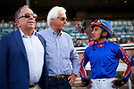 Bob Baffert and Rafeal Bejarano at Santa Anita Park, Arcadia California on September 29, 2012.