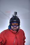 Challenge Mer et Montagne 2012, Saint Gervais les Bains, Mont Blanc, Haute Savoie, France..Ski Super Geant..Gilles Morelle..