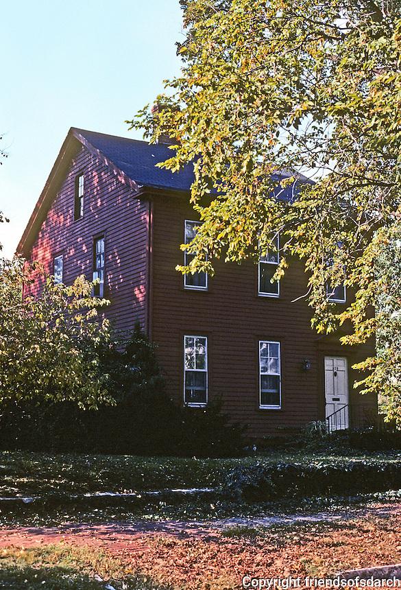 Alton: Klune House, 312 Prospect, c. 1840-50. New England style. Photo '77.