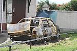 Burnt out Car, Laurences Park