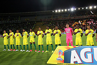 BOGOTA -COLOMBIA, 9-07-2017. Team of Atletico Nacional during match against  of   Independiente Santa Fe   during match for the date 1 of the Aguila League II 2017 played at Nemesio Camacho El Campin stadium . Photo:VizzorImage / Felipe Caicedo  / Staff